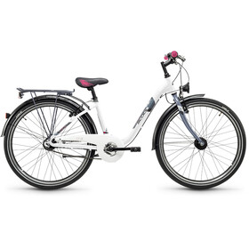s'cool chiX 26 7-S - Vélo junior Enfant - alloy blanc